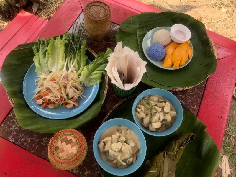 Laotian Cooking Class at Nahm Dong Park