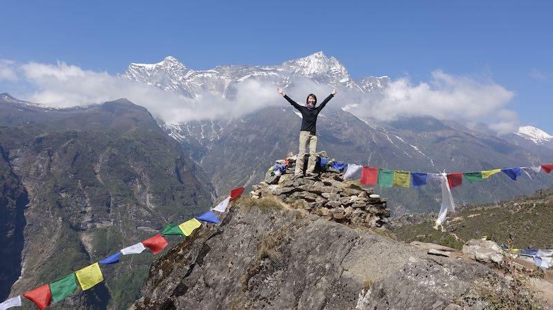 I felt like I was on top of the world!