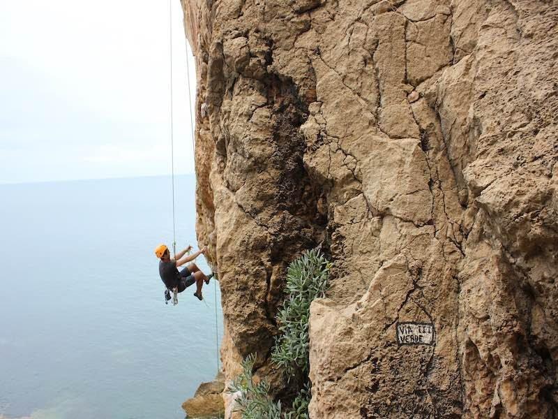 Imagine climbing next to the sea! Summer Climbing Destinations Europe