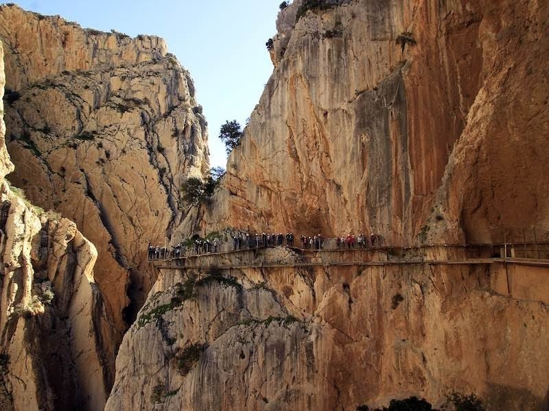 Are you brave enough to hike the Caminito del Rey? | Summer Sport Climbing in Europe