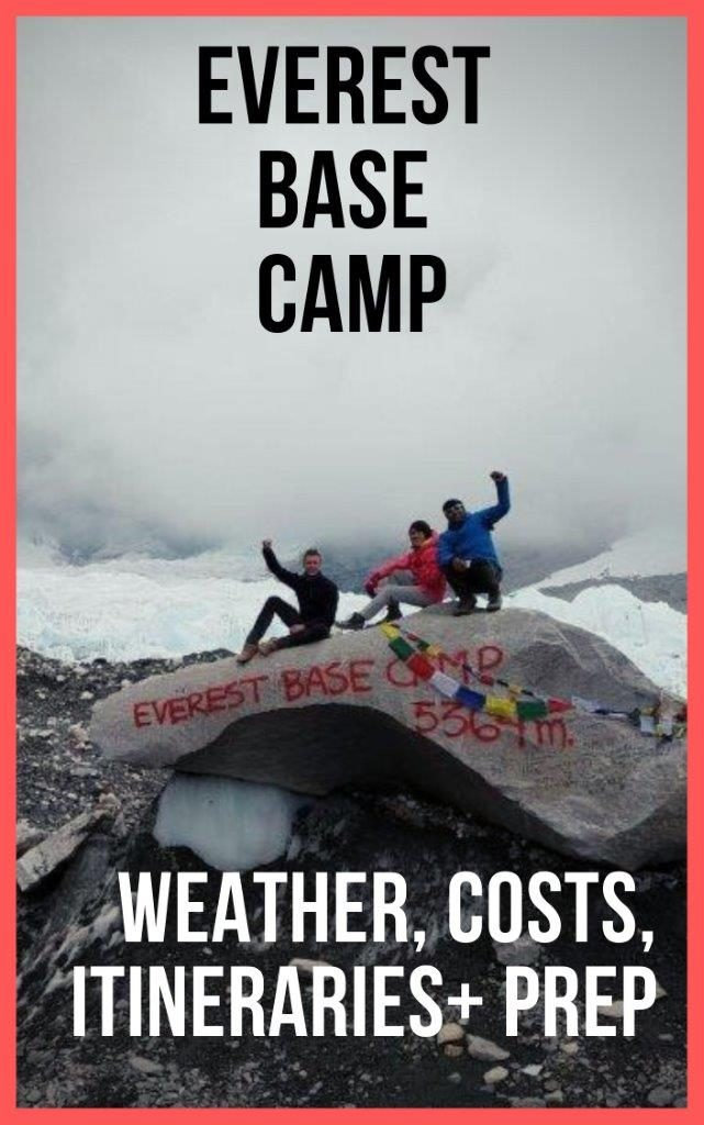 Everest Base Camp trek and costs