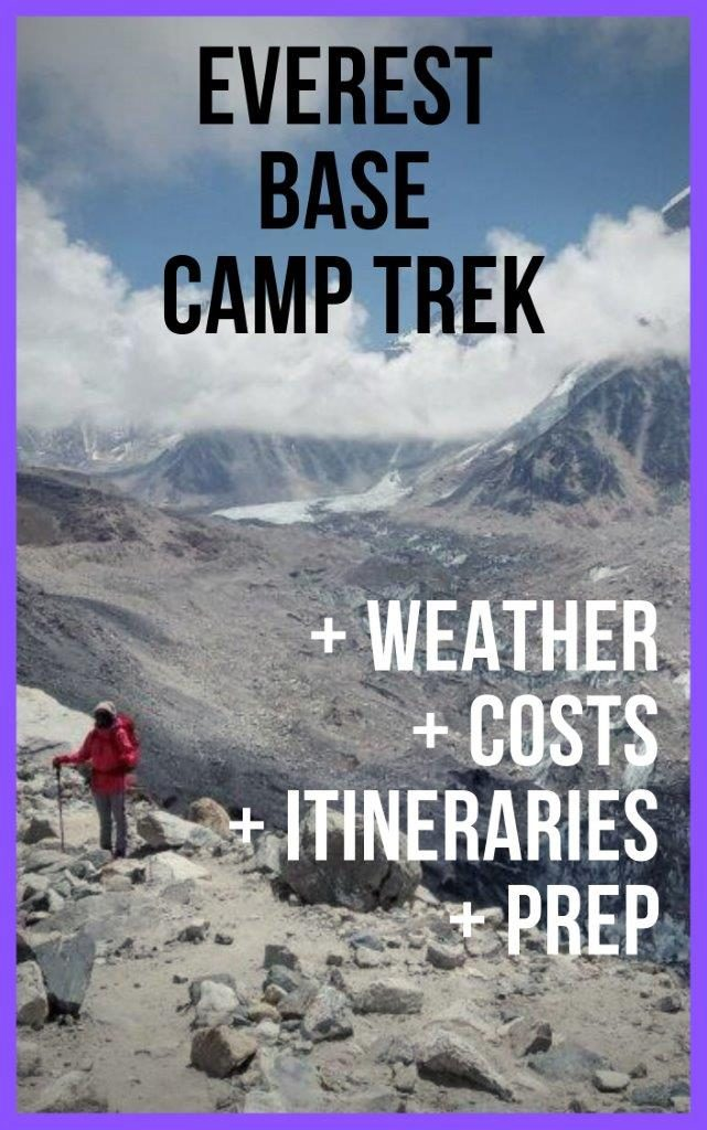 EBC Trek Experience and journey