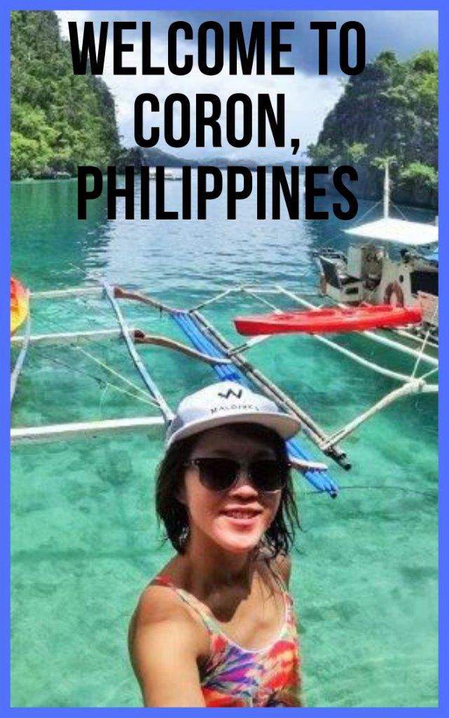Coron - The Pretty Little Island Cove in Philippines