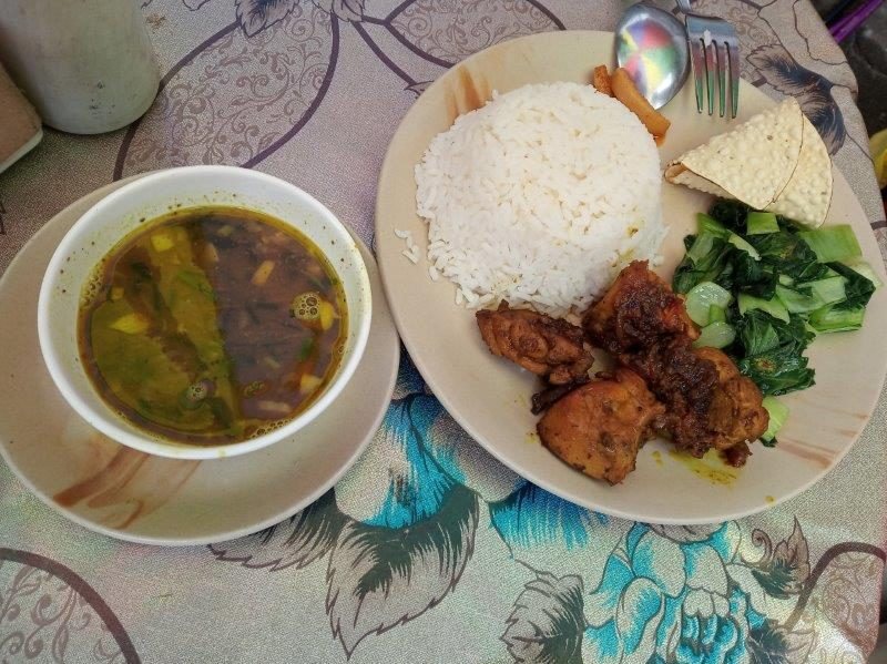 Meals at Everest Base Camp - Dal Bhat