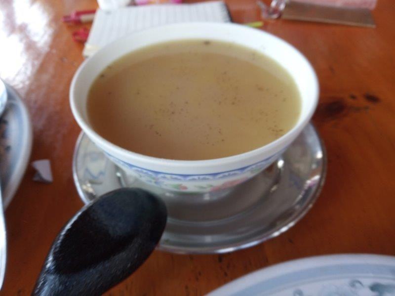Meals at Everest Base Camp - Garlic Soup