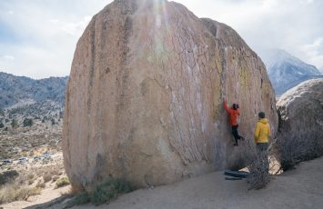 World class bouldering can be found in Bishop.