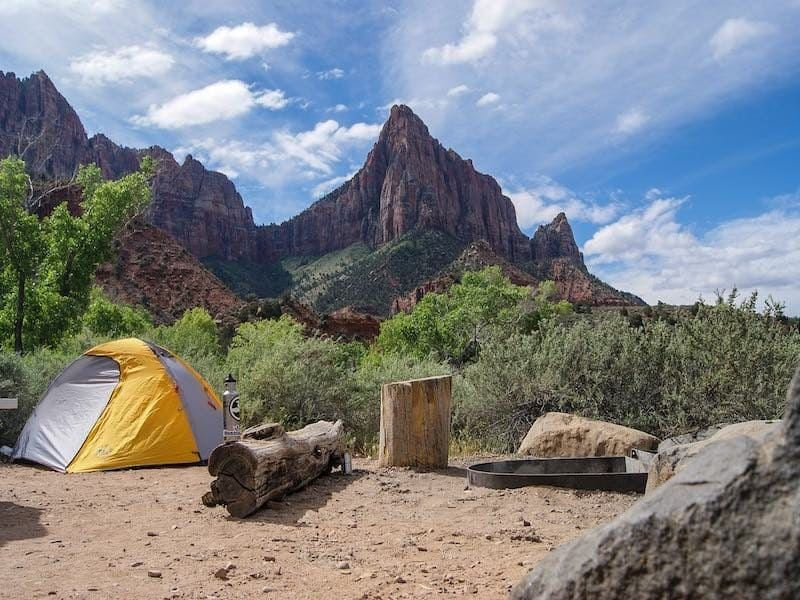 Imagine camping right next to the crag!