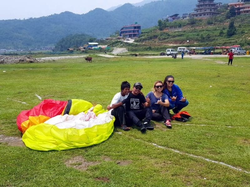 paragliding in Pokhara price nepal