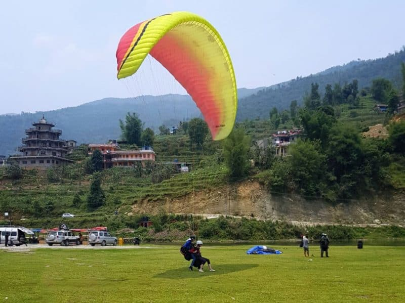 paragliding in Pokhara price