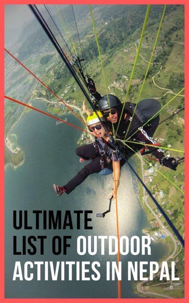 Himalayan adventure activities