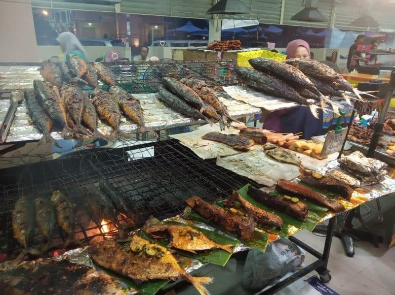 Brunei Local Food at Gadong Night Market