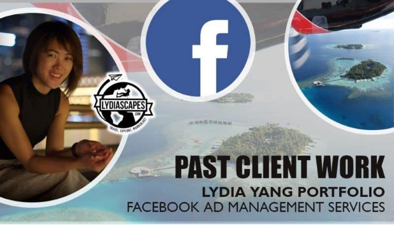 Lydia Yang Past Client Work Portfolio | Need help with facebook page management and facebook ads? Get assistance from a trustworthy and experienced freelance social media consultant from Singapore