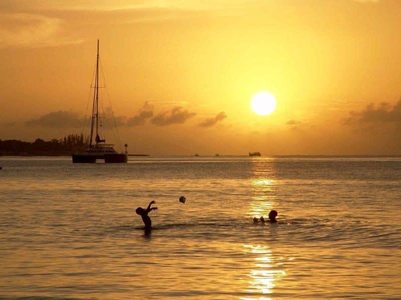 Sunsets at Jamaica Beach