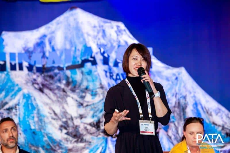 Travel industry Speaker Lydia Yang