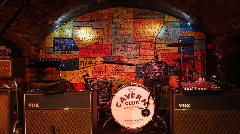 The famous Cavern Club where The Beatles first started