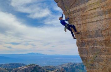 Rock Climbing Tucson - A Winter Escape