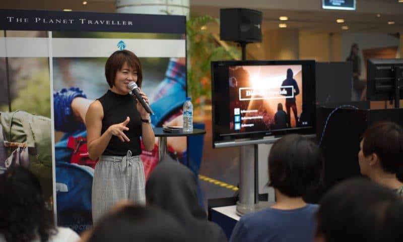 Lydia Yang Travel speaker and blogger at The Planet Traveller Talk