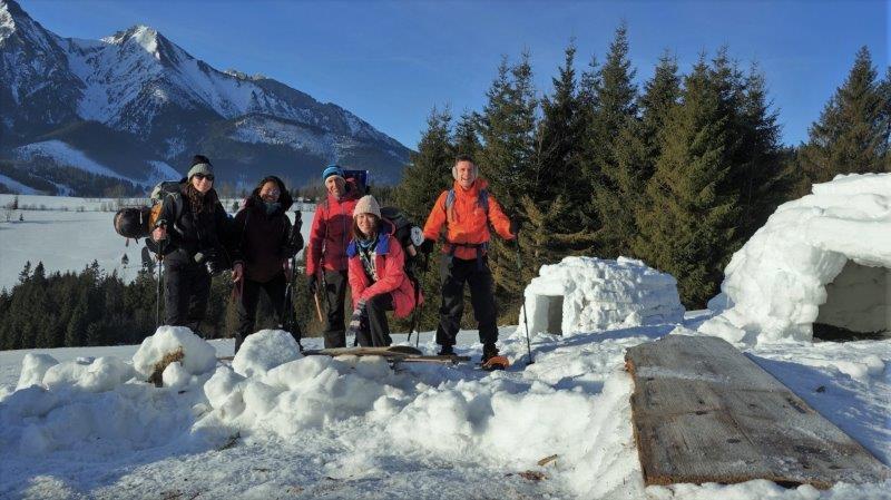 Of Igloos and Husky Hugs -   1 Week Outdoor Adventures in Slovakia