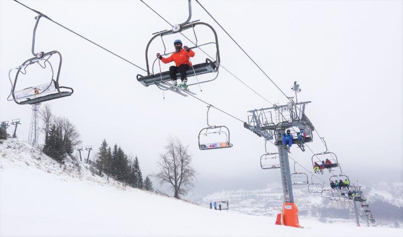 skiing in Low Tatras region