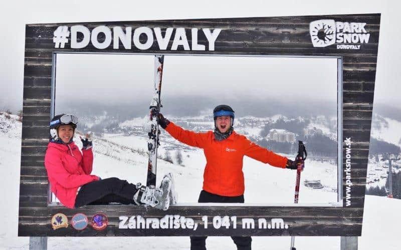 ski season starts in Dec in Donovaly