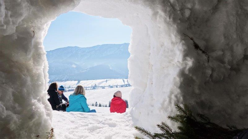 stay in an igloo