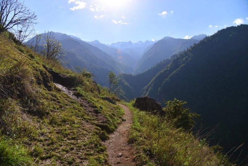 Trail To Amjilosa Village