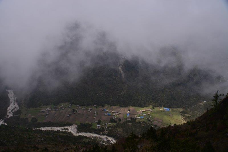 View Of Ghunsa Village