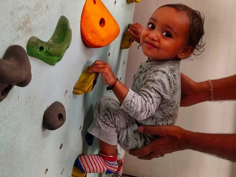 Benefits of Climbing for Children