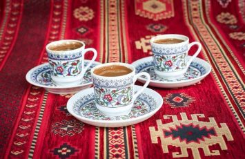 Turkish Coffee or chai tea