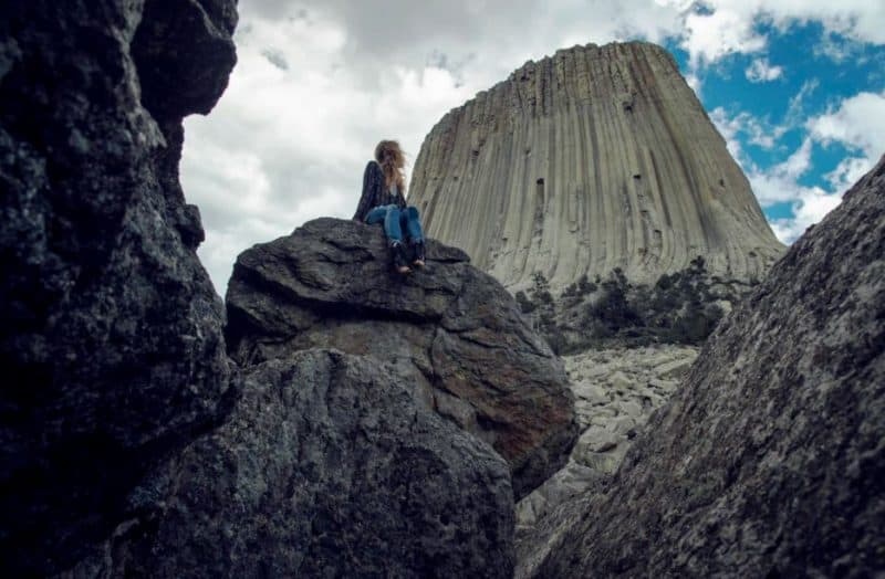 Devil's Tower is located in the North East of Wyoming, USA
