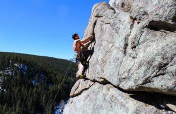 Sport climbing this growing sport.