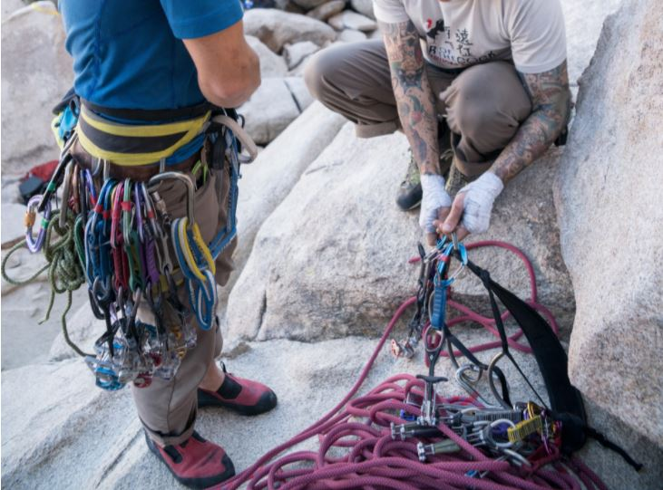 Rock Climbing Harnesses Compilation
